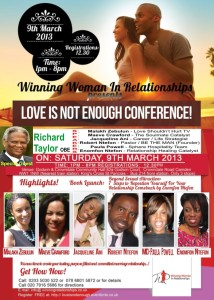 Love Is Not Enough Conference